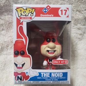 FUNKO POP #17 THE NOID AD ICON TARGET EXCLUSIVE